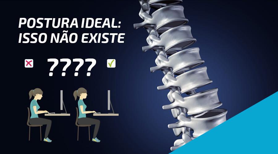 Postura ideal: isso não existe!